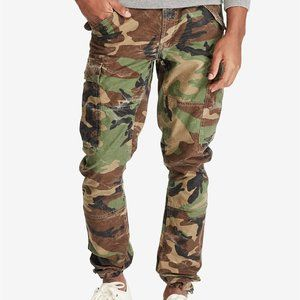 POLO RALPH LAUREN Slim Fit Camo Cargo Pants
